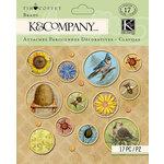 K and Company - Foliage Collection by Tim Coffey - Brads