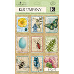 K and Company - Foliage Collection by Tim Coffey - Clearly Yours - Epoxy Stickers