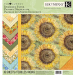 K and Company - Foliage Collection by Tim Coffey - 12 x 12 Designer Paper Pad