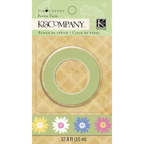 K and Company - Foliage Collection by Tim Coffey - Paper Tape - Floral