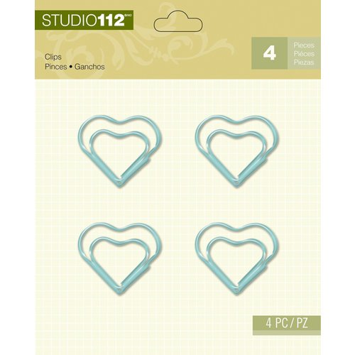 K and Company - Studio 112 Collection - Clips - Blue Heart