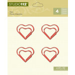 K and Company - Studio 112 Collection - Clips - Red Heart