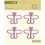 K and Company - Studio 112 Collection - Clips - Purple Butterfly