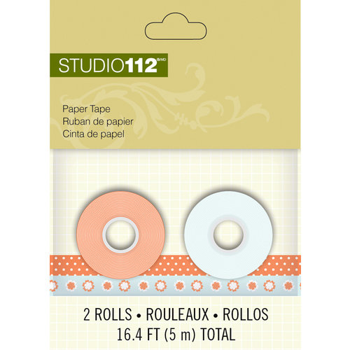 K and Company - Studio 112 Collection - Paper Tape - Pattern