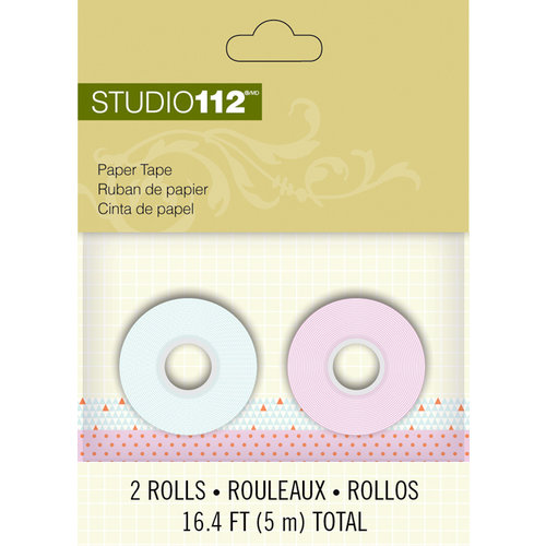 K and Company - Studio 112 Collection - Paper Tape - Geometric