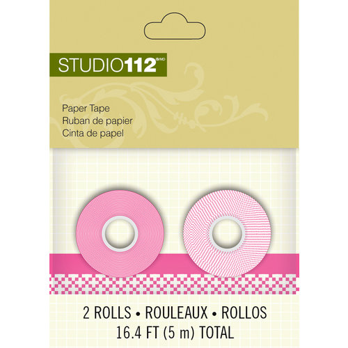 K and Company - Studio 112 Collection - Paper Tape - Pink