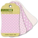 K and Company - Studio 112 Collection - Mini Tag Pad - Light Purple