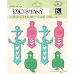 K and Company - Handmade Collection - Metal Brads