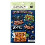 K and Company - Tim Coffey - Halloween - Sticker Medley