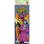 K and Company - Tim Coffey - Halloween - Large Die Cut Cardstock Pieces with Glitter Accents