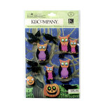 K and Company - Tim Coffey - Halloween - Grand Adhesions with Glitter Accents - Owl