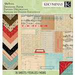 K and Company - Kelly Panacci - Eclectic Collection - 12 x 12 Designer Paper Pad