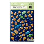 K and Company - Tim Coffey - Halloween - Candy Corn Pillow Stickers