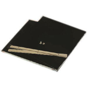 K and Company - Ancestry.com Collection - 12x12 Page Protectors - Black