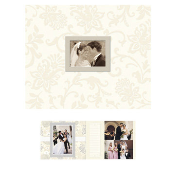 K and Company - Photo Scrap Album - Classic Wedding