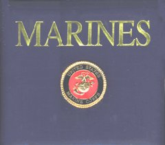 K and Company 12 x 12 Post Bound Scrapbook - Marines