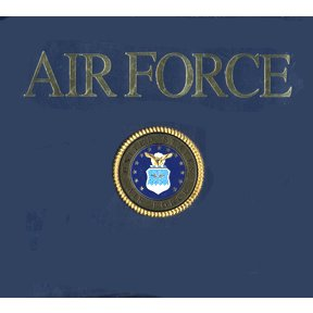 K and Company 12 x 12 Post Bound Scrapbook - Air Force
