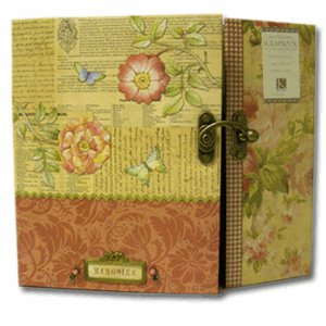 K and  Company - 12 x 12  Scrapbook - Brianna