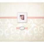 K and Company - Wedding - Bordeaux Silver 12x12 Postbound Album