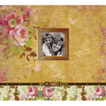 K and Company - Madeline Collection - 12 x 12 Scrapbook Album
