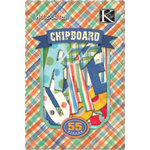 K and Company - Chipboard Alphabet Pieces - Hopscotch Collection - Boy