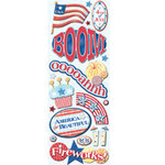 K and Company - Adhesive Chipboard - 4th of July
