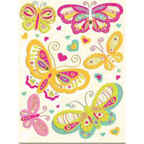 K and Company - Berry Sweet Collection - Grand Adhesions - Berry Sweet Butterflies