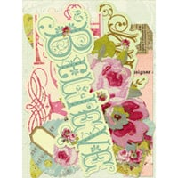 K and Company - Madeline Collection - Die Cut Cardstock