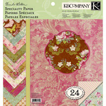 K and Company - Madeline Collection - 12 x 12 Specialty Paper Pad