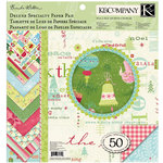 K and Company - Brenda Walton Seasonal Collection - 12 x 12 Double Sided Patterned Cardstock - Deluxe Specialty Paper Pad