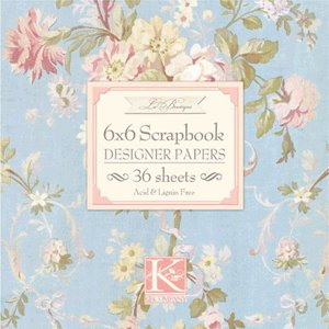 K and Company 6 x 6 Designer Paper Pads - La Boutique