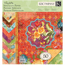 K and Company - Que Sera Sera Collection - 12 x 12 Specialty Paper Pad