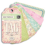 K and Company - Perfect For Journaling Tag Pad - Hopscotch Collection - Girl