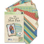 K and Company - Sea Glass Collection - Die Cut Mat Pad, CLEARANCE