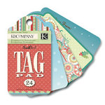 K and Company - Swell Noel Collection - Tag Pad