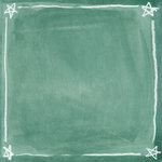 K and Company - 12x12 Paper - Peter Horjus Collection - School Rules Chalk Stars
