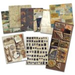 K and Company Paper Kits - Life's Journey Travel