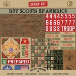 K and Company - Boy Scouts of America - Scrap Kit - Boy Scout