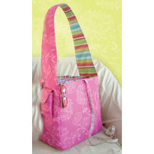K and Company - Amy Butler Collection - Belle - Creativity Bag - Fabric Scrapbooking Tote Bag, CLEARANCE