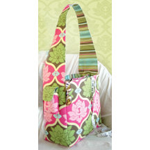 K and Company - Amy Butler Collection - Sola - Creativity Bag - Fabric Scrapbooking Tote Bag