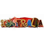 Karen Foster Design - Destination Adhesive Stacked Statement - Australia
