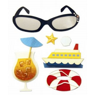 Karen Foster Design - Cruise Collection - Stacked Stickers - Cruise