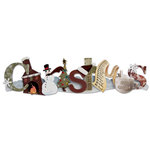Karen Foster Design - Christmas Collection - Stacked Statements - 3 Dimensional Adhesive Title - Christmas
