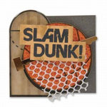 Karen Foster Design - Basketball Collection - Lil' Stack Stickers - Slam Dunk