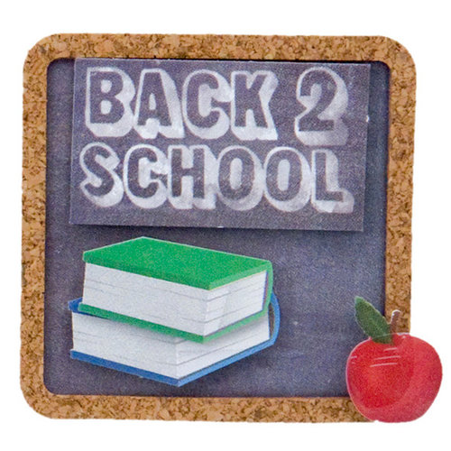 Karen Foster Design - School Collection - Lil' Stack Stickers - Back to School