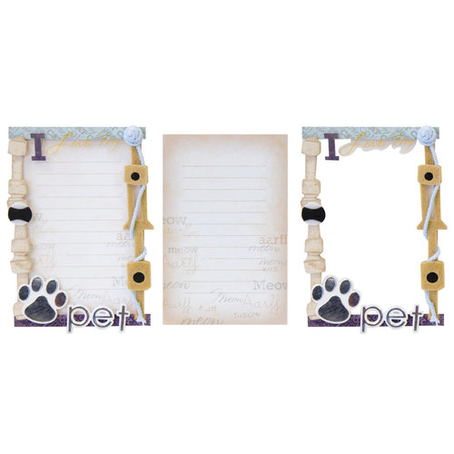 Karen Foster Design - Stacked Journaling - My Pet