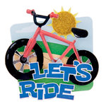 Karen Foster Design - Lil' Stack Stickers - Let's Ride