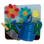 Karen Foster Design - Lil' Stack Stickers - Fun in the Garden