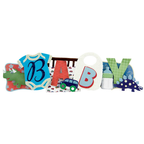 Karen Foster Design - Stacked Statements - Baby Boy