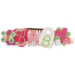 Karen Foster Design - Stacked Statements - Baby Girl